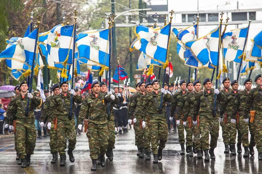 Greek armed forces