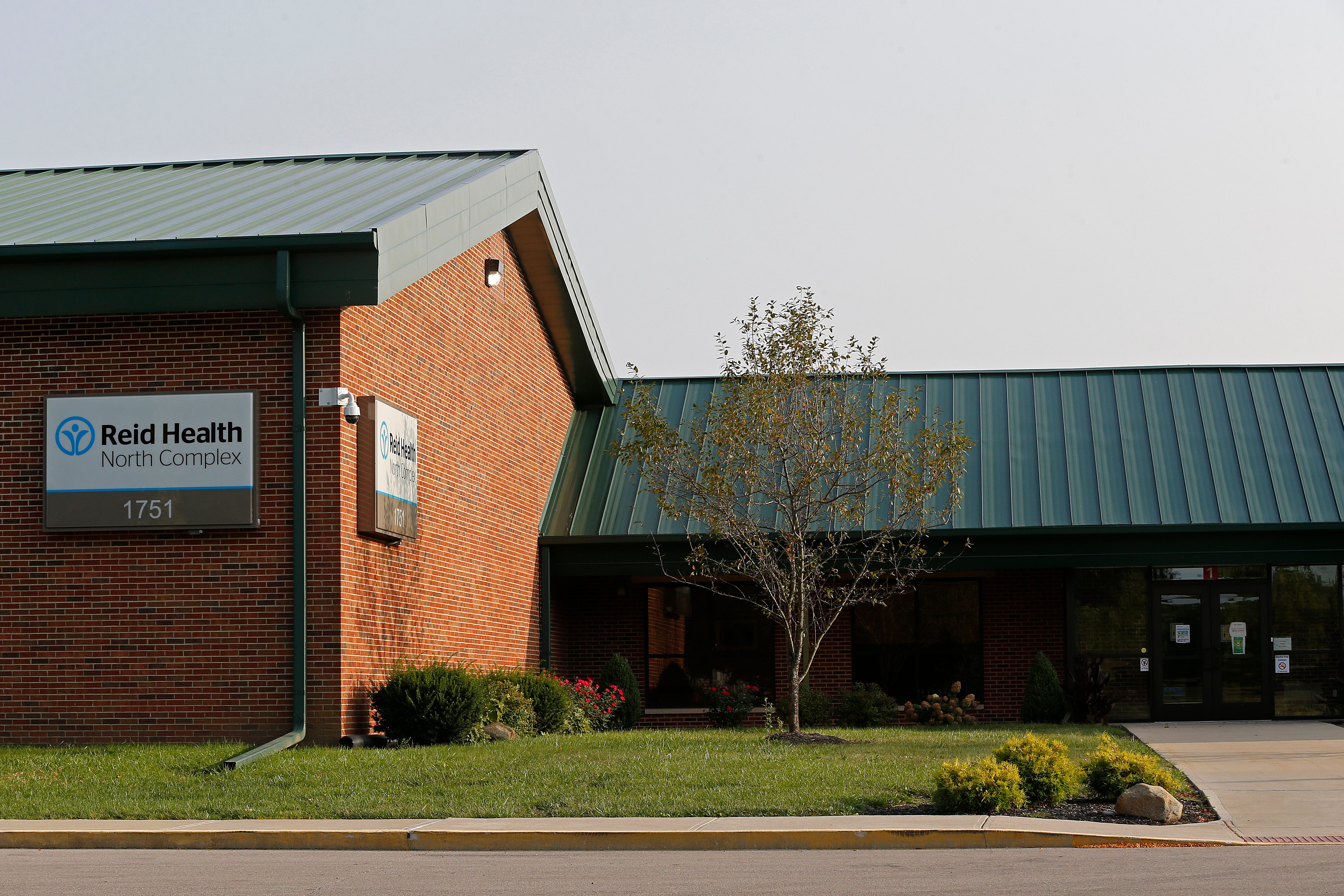 The former Highland Heights Elementary School building now is owned by Reid Health.