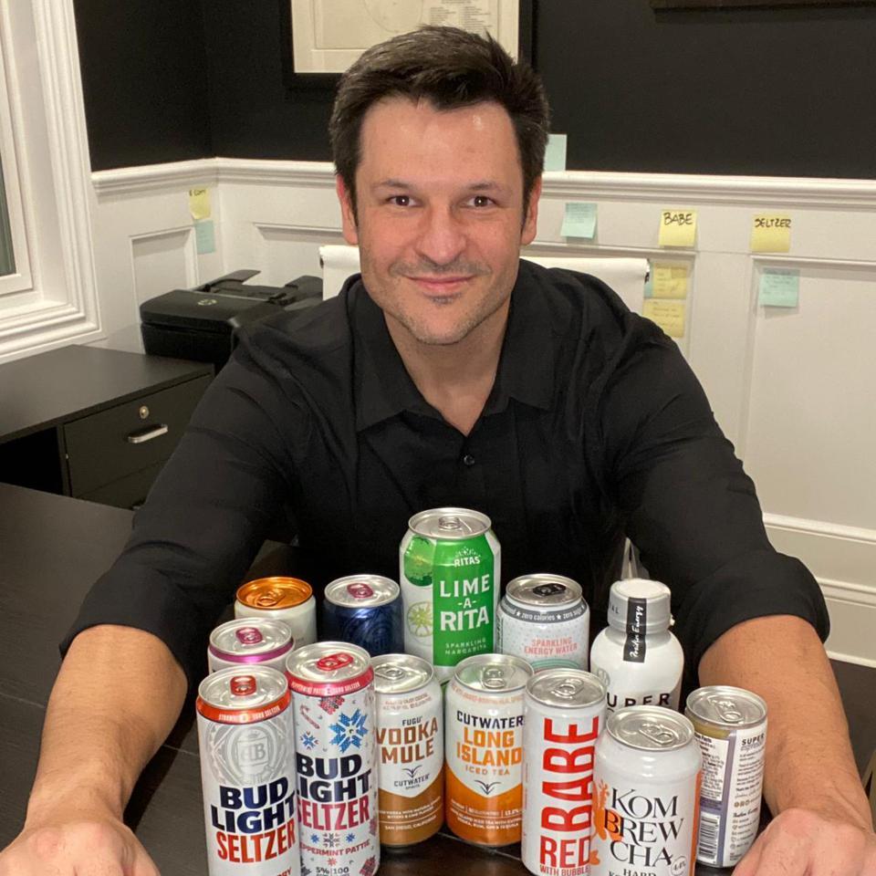 President of Beyond Beer at Anheuser-Bush, Fabricio Zonzini