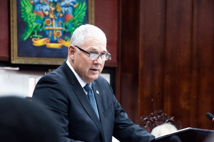 PM Chastanet gives details of expenditure on procurement under State of Emergency