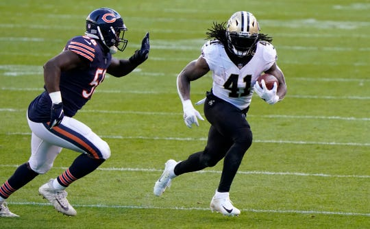 With seven rushing touchdowns, 67 catches and four receiving TDs, Saints running back Alvin Kamara is the top-ranked fantasy running back through the first 10 weeks of the season.