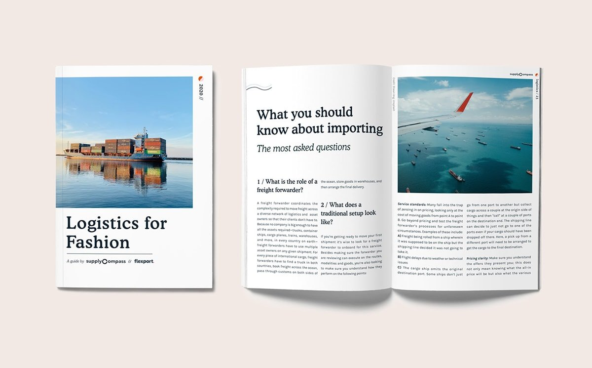 SupplyCompass and Flexport release 'Logistics for Fashion'