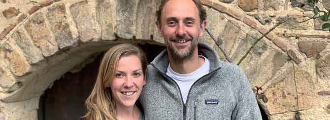 Michele Smith-Chapel and husband David believe Aligoté provides a simple pleasure.