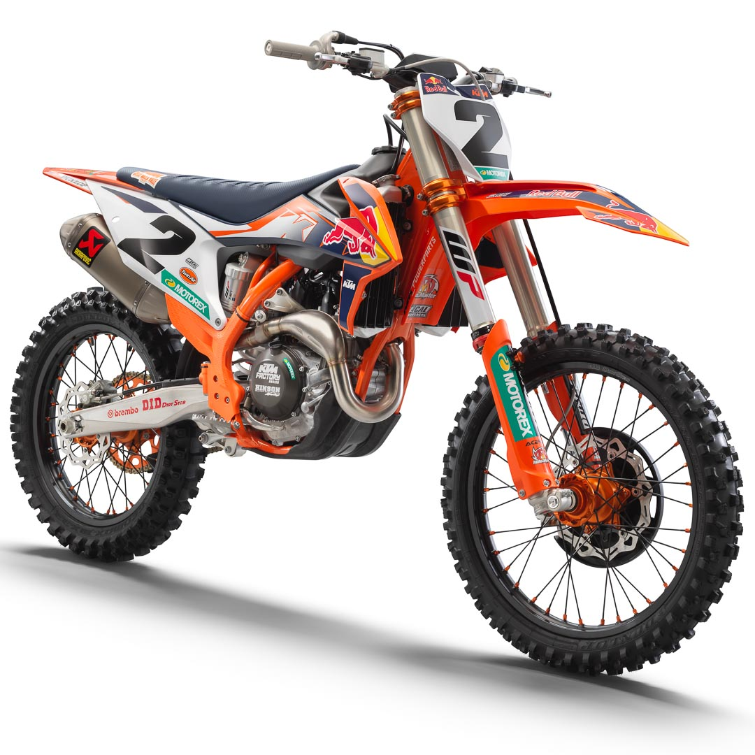 2021 KTM 450 SX-F Factory Edition Unleashed With Race-Bred