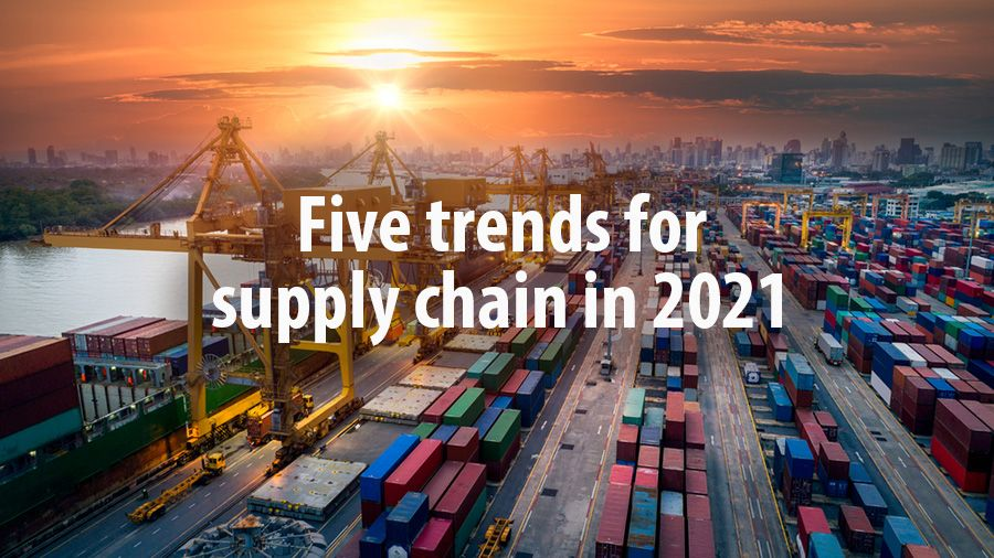 Five trends for supply chain in 2021