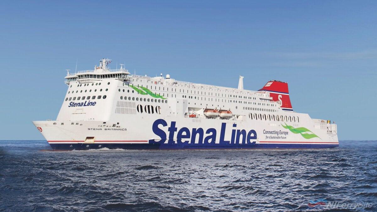 STENA BRITANNICA. Stena Line.