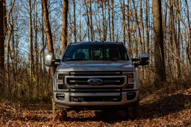 2020 Ford F350 Tremor front