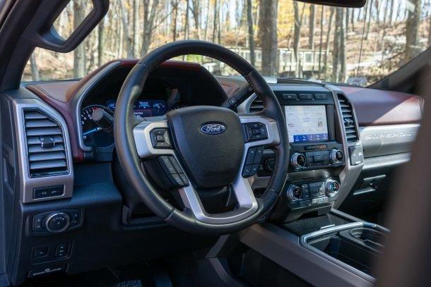 2020 Ford F350 Tremor interior