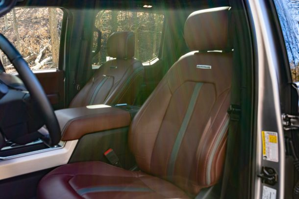 2020 Ford F350 Tremor front seat