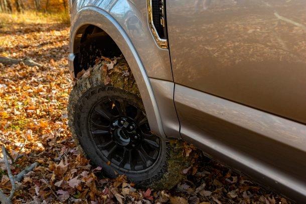 2020 Ford F350 Tremor muddy wheel