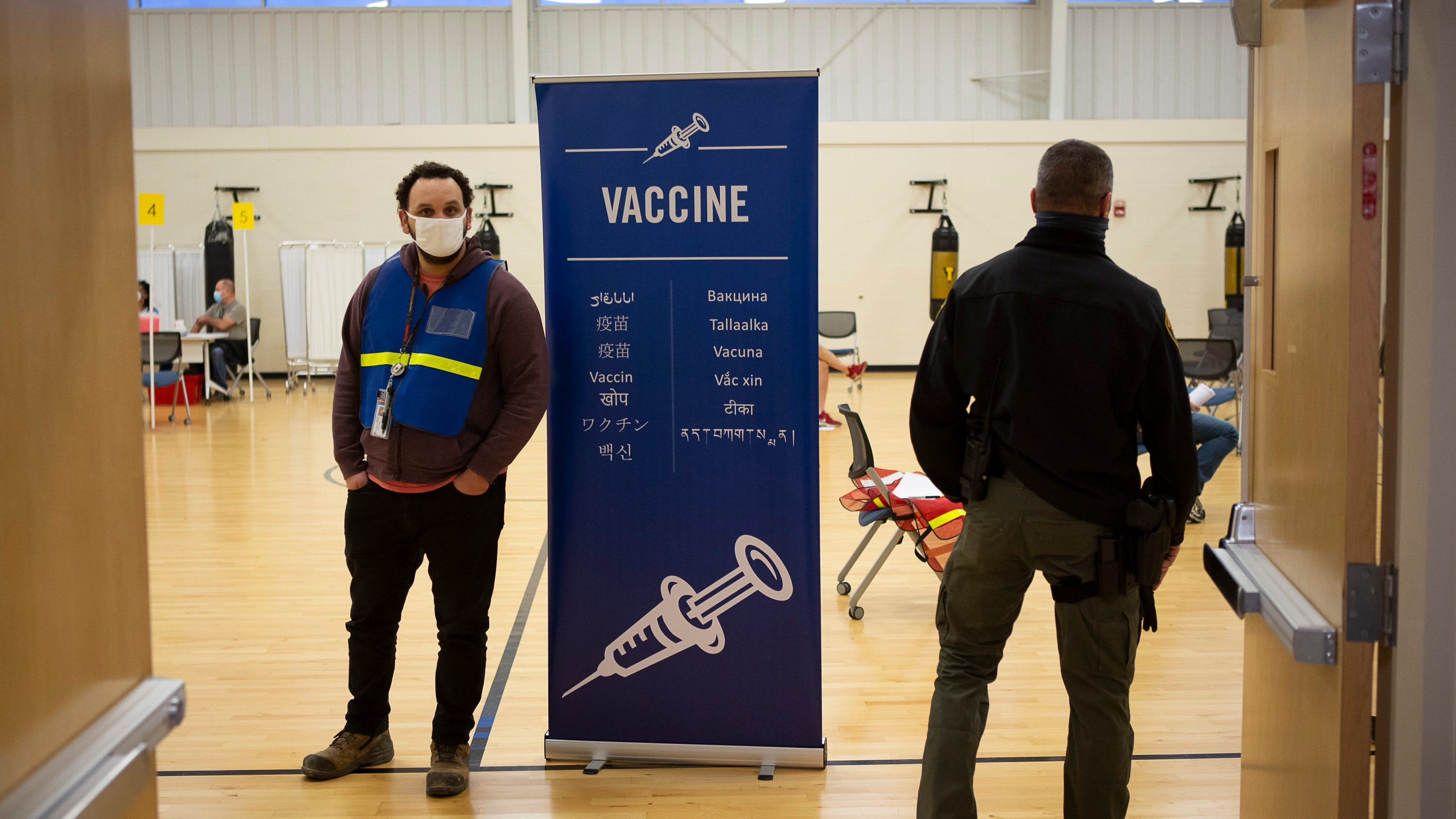 Franklin County Public Health has begun distributing COVID-19 vaccines to EMS responders in the first phase of vaccine distribution. The organization received 4300 doses of the Moderna vaccine and can administer up to 540 per day to those in the first phase of vaccine distribution.