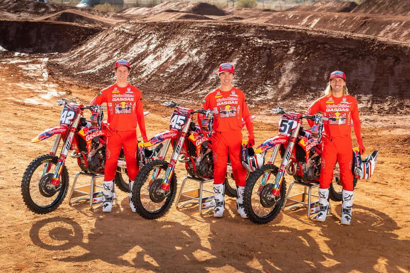 GasGas North America Factory Racing 2021 Supercross Team