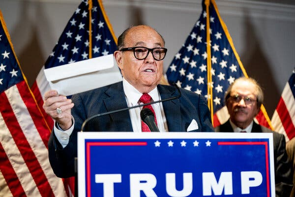 Middlebury College is considering revoking the honorary degree it bestowed on Rudolph W. Giuliani, President Trump's personal and campaign lawyer.