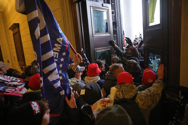 More arrests are expected as investigators scrutinize photographs, videos and social media posts to identify the rioters who stormed the Capitol on Wednesday.