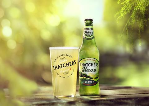 ThatchersHaze_bottle&glass