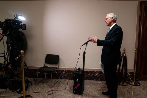 Senator Ron Johnson, Republican of Wisconsin, has not confirmed that he will seek a third term in 2022.