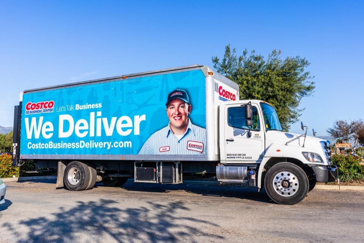 Costco delivery