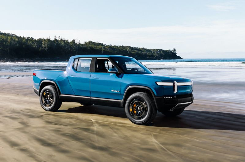 Amazon-backed Rivian Close to a $25 Billion Valuation With a New Funding Round