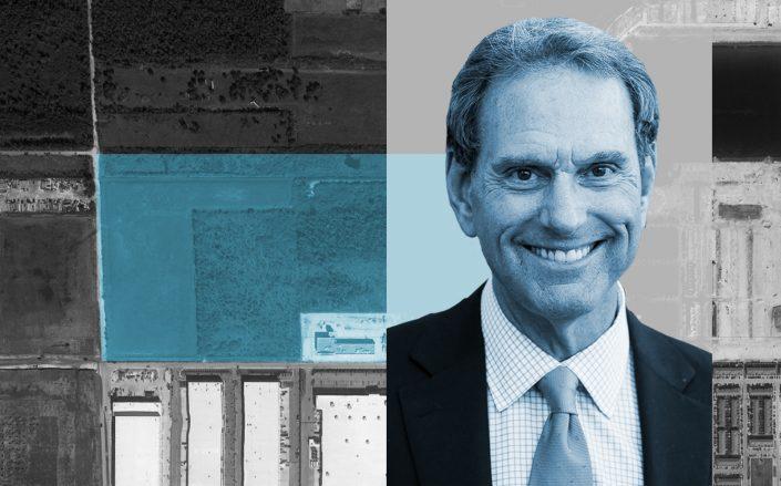 CenterPoint Properties CEO Bob Chapman and 4040 W 108th St, Hialeah, FL. (Google Maps, GI Partners)