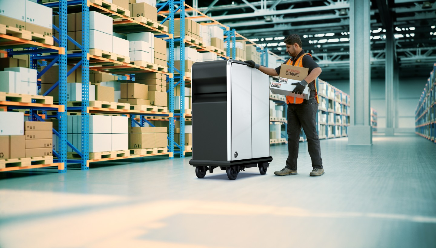BrightDrop's first product launch will be the EP1 motor-assisted pallet designed to increase productivity and cut physical strain on logistics workers