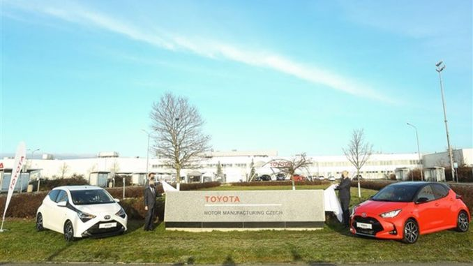 Toyota will start production of new race in cekya