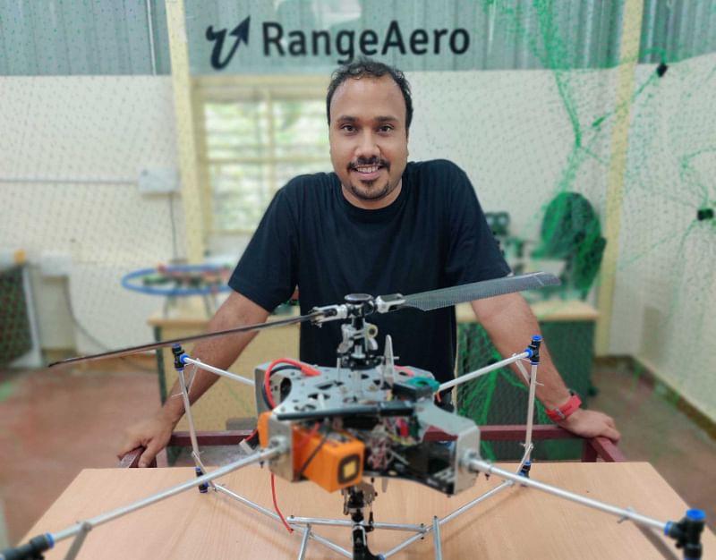 RangeAero Founder, Arpit Sharma