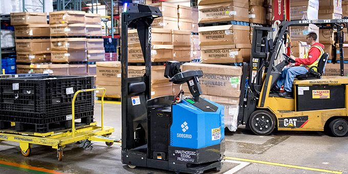 Warehouses Turn to Automation to Meet Permanent Peak Demand