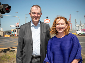Two contracts to kick off Melbourne port rail project