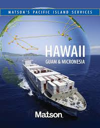 An advertisement for Matson's services to Guam and Micronesia. (Image: Matson)