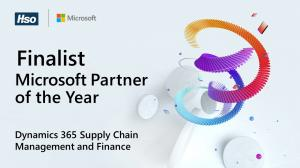 HSO Recognized as Finalist for the 2021 Microsoft Dynamics 365 Supply Chain Management & Finance Partner of the Year Award